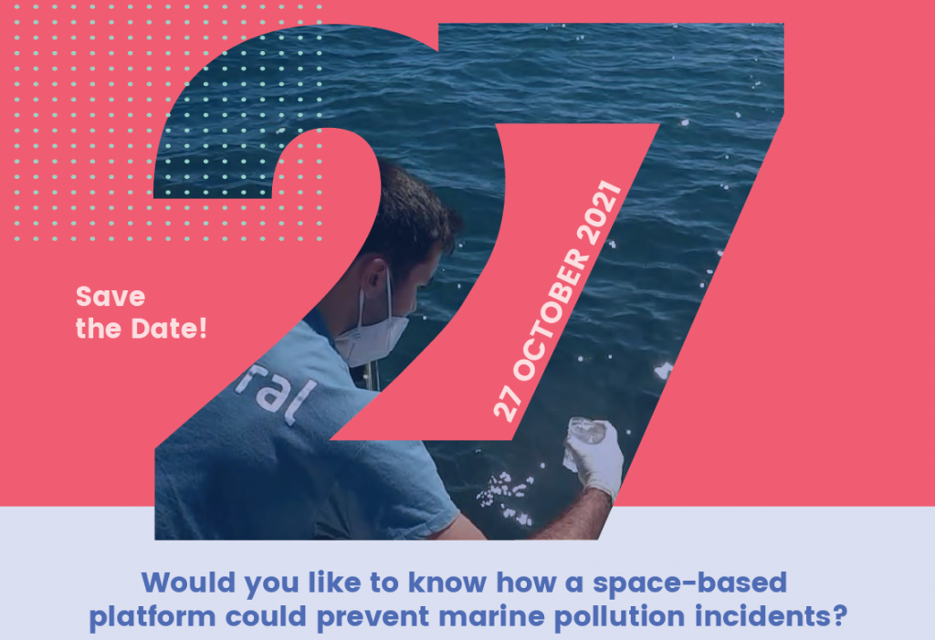 Save the date 27 October 2021! High level conference: Sustainable port management through Copernicus: the space-based IMPRESSIVE platform